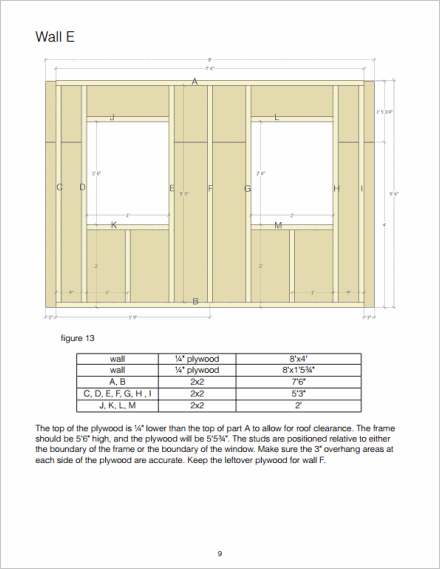 Wall panel framing
