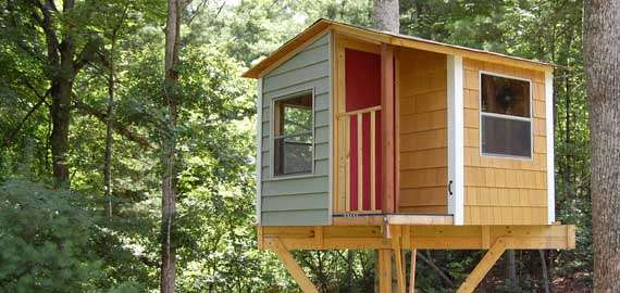 Treehouse Guides - Plans to build a tree house