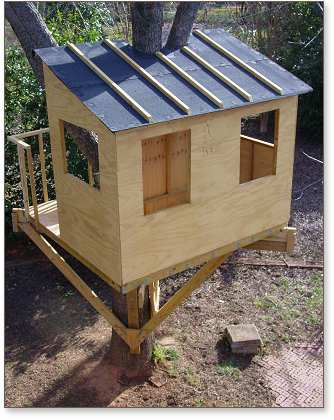 Kauri tree house plans treehouse guides for Free treehouse plans and designs