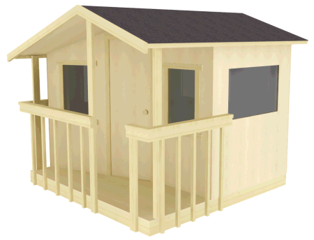 Zelkova tree house plans for two trees Treehouse Guides